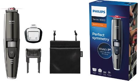Philips Séries 9000 BT9297/15 - La tondeuse barbe avec guide laser