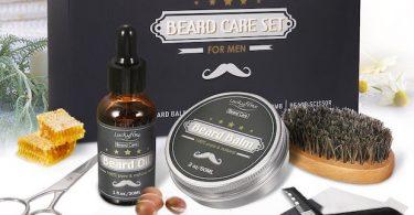 coffret barbe kit pour barbu
